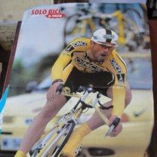 Coleccionismo deportivo: POSTER SOLO BICI DAVID ETXEBARRIA TOUR 1999 GANADOR DE 2 ETAPAS - ENVIO GRATIS - 40 X 30 CMS. Lote 178686415