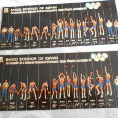Coleccionismo deportivo: PEGATINAS DE BALONCESTO LOS ANGELES 1984. Lote 179061902