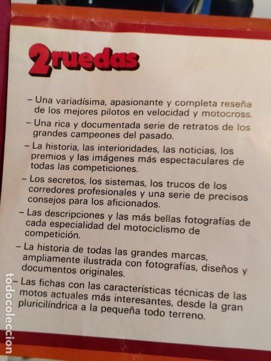 Coleccionismo deportivo: Poster 2 Ruedas 1980 - Foto 14 - 179225178