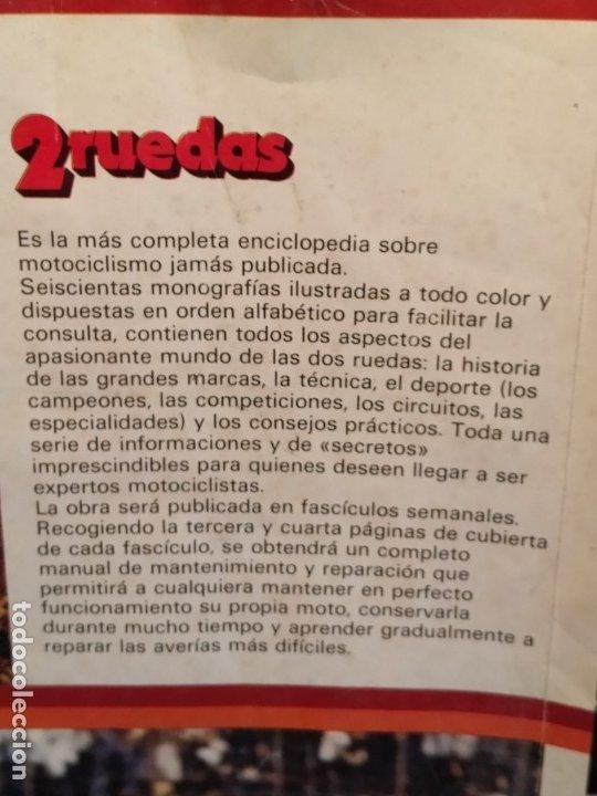 Coleccionismo deportivo: Poster 2 Ruedas 1980 - Foto 4 - 179225178