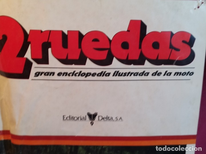 Coleccionismo deportivo: Poster 2 Ruedas 1980 - Foto 5 - 179225178