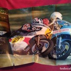 Coleccionismo deportivo: POSTER 2 RUEDAS 1980. Lote 179225178