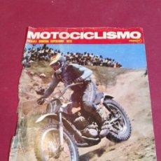 Coleccionismo deportivo: RECORTE PORTADA MOTOCICLISMO . Lote 179225461