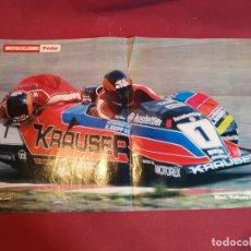 Coleccionismo deportivo: POSTER REVISTA MOTOCICLISMO 1981. Lote 179225517