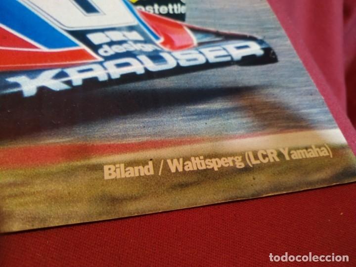 Coleccionismo deportivo: Poster revista Motociclismo 1981 - Foto 2 - 179225517