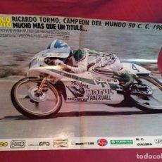 Coleccionismo deportivo: POSTER REVISTA SOLO MOTO 1981. Lote 179225606