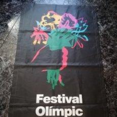 Coleccionismo deportivo: CARTEL ANUNCIADOR DEL FESTIVAL OLÍMPIC DE LES ARTS · OLIMPIADAS DE BARCELONA '92 - COOB'92, 1988 -. Lote 179315832