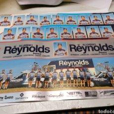Coleccionismo deportivo: , EQUIPO CICLISTA REYNOLDS 1988. Lote 180895055