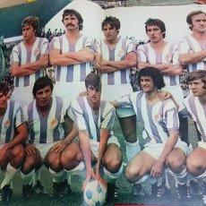Coleccionismo deportivo: POSTER REAL VALLADOLID 1977. Lote 185770545