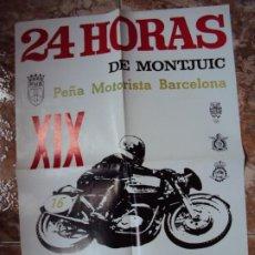 Coleccionismo deportivo: (CAT-191202)CARTEL 24 HORAS DE MONTJUICH 24 HORAS DE MONTJUIC 1973. Lote 189572193