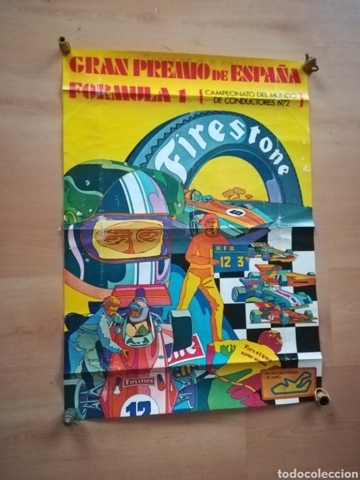 CARTEL DEL GRAN PREMIO DE ESPAÑA DE FORMULA 1. AÑO 1972. (Coleccionismo Deportivo - Carteles otros Deportes)