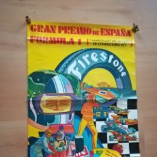 Coleccionismo deportivo: CARTEL DEL GRAN PREMIO DE ESPAÑA DE FORMULA 1. AÑO 1972.. Lote 189826836