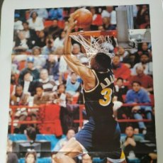 Coleccionismo deportivo: LOTE 3 PÓSTERS GIGANTES NBA SLAM DUNK CONTEST (REVISTAS EXTRANJERAS) -¡RAROS!. Lote 189966248