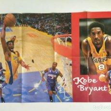 Coleccionismo deportivo: PÓSTER GIGANTE KOBE BRYANT (REVISTA OFICIAL NBA). Lote 189968066