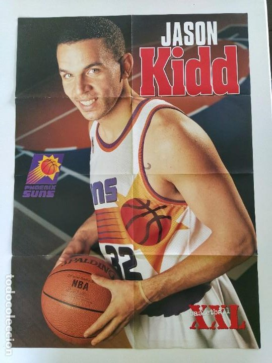 Coleccionismo deportivo: LOTE 13 PÓSTERS GIGANTES NBA AÑOS 90/00 (REVISTA XXL BASKET) - KOBE BRYANT, GARNETT, EWING, CARTER.. - Foto 11 - 190095851