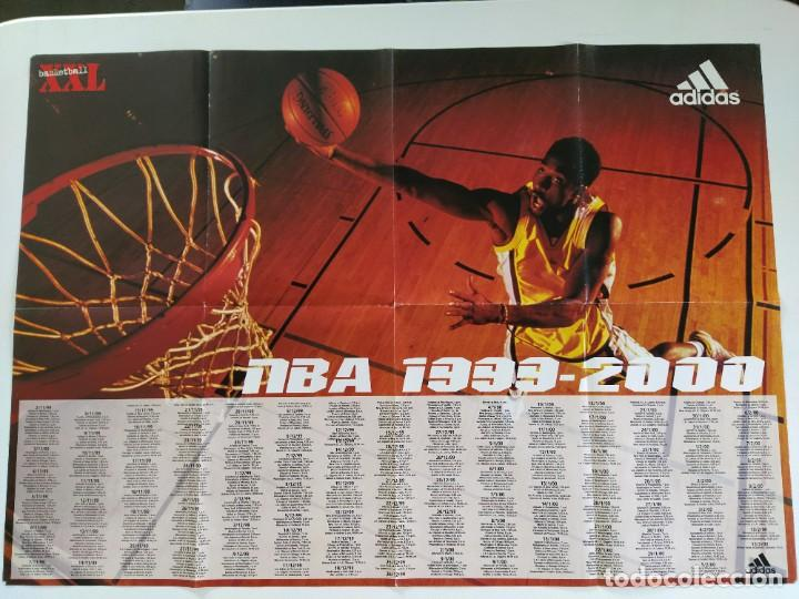 Coleccionismo deportivo: LOTE 13 PÓSTERS GIGANTES NBA AÑOS 90/00 (REVISTA XXL BASKET) - KOBE BRYANT, GARNETT, EWING, CARTER.. - Foto 6 - 190095851