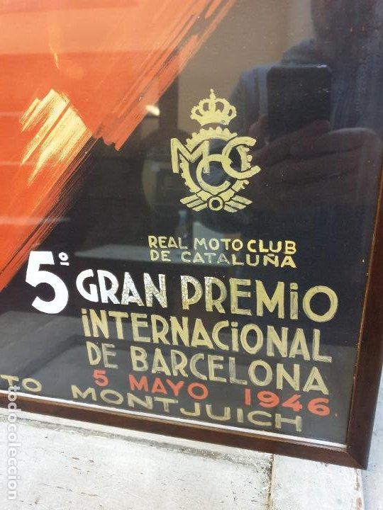 Coleccionismo deportivo: 5º GRAN PREMIO, CIRCUITO DE MONTJUICH 1946 - Foto 2 - 190141263