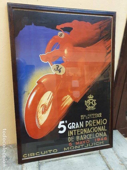 Coleccionismo deportivo: 5º GRAN PREMIO, CIRCUITO DE MONTJUICH 1946 - Foto 5 - 190141263