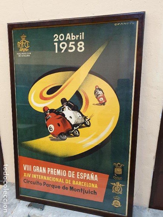 Coleccionismo deportivo: GRAN PREMIO DE ESPAÑA, CIRCUITO DE MONTJUICH 1958 - Foto 2 - 190142391