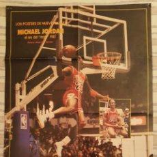 Coleccionismo deportivo: POSTER MICHAEL JORDAN ALL STAR 1987 86X58. Lote 190439386