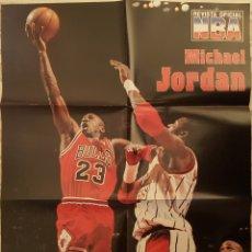 Coleccionismo deportivo: POSTER MICHAEL JORDAN 78X50 CM. Lote 190440013