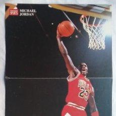 Coleccionismo deportivo: MICHAEL JORDAN # 23 PÓSTER AIR NBA CHICAGO BULLS NIKE 1988 BALONCESTO. Lote 192556548