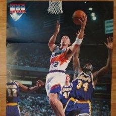 Coleccionismo deportivo: PÓSTER GIGANTE JASON KIDD (REVISTA OFICIAL NBA). Lote 193449507