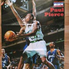 Coleccionismo deportivo: PÓSTER GIGANTE PAUL PIERCE (REVISTA OFICIAL NBA). Lote 193450270