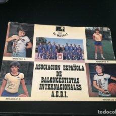Coleccionismo deportivo: BONITO CARTELITO - BALONCESTO -LA DE LAS FOTOS QUE NO TE FALTE EN TU COLECCION VER TODOS MIS LOTES. Lote 193786500