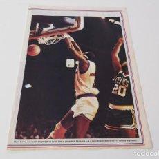 Coleccionismo deportivo: MINI POSTER BALONCESTO NBA MOSES MALONE. Lote 194169568