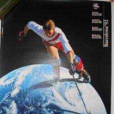 Coleccionismo deportivo: CARTEL BARCELONA 92 70 X 50 CM.. Lote 194583191