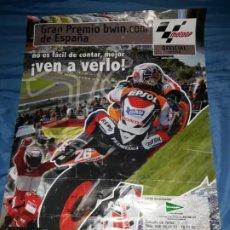 Coleccionismo deportivo: POSTER GRAN PREMIO BWIN.COM DE ESPAÑA,CIRCUITO DE JEREZ 2007,MOTO GP. Lote 194972062