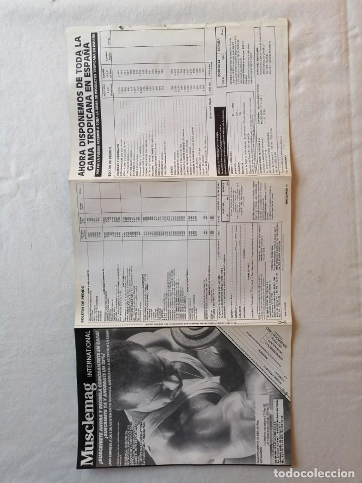 Coleccionismo deportivo: ANTIGUO POSTER CARTEL REVISTA MUSCLEMAG INTERNATIONAL EDICION ESPAÑOLA PAQUI ROJAS 57X28 CMS - Foto 2 - 195125807