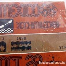 Coleccionismo deportivo: BOLETOS DE LA OLIMPIADAS DE MÉXICO 68. Lote 199071358