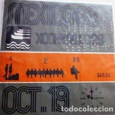 Coleccionismo deportivo: BOLETO DE LAS OLIMPIADAS DE MÉXICO 68. Lote 199072485