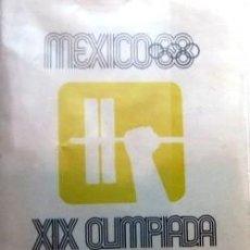 Coleccionismo deportivo: BOLETO DE LAS OLIMPIADAS DE MÉXICO 68. Lote 199072891
