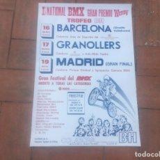 Coleccionismo deportivo: I NACIONAL BMX GRAN PREMIO WENDY TROFEO BH BARCELONA GRANOLLERS MADRID 1985. Lote 199663367