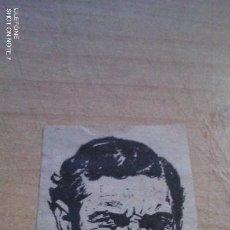 Coleccionismo deportivo: PEQUEÑA CARICATURA DE PAGO GOMEZ RECORTADA DE PERIODICO DE LA EPOCA QUINI. Lote 199698447