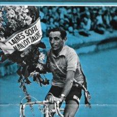 Coleccionismo deportivo: CICLISMO: PÓSTER DE FAUSTO COPPI. Lote 200370742