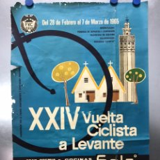 Coleccionismo deportivo: XXIV VUELTA CICLISTA A LEVANTE, GRAN PREMIO COCINAS SADA, MARZO DE 1965. Lote 202988330