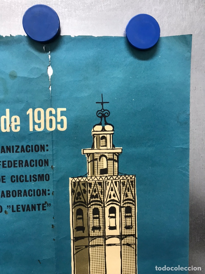 Coleccionismo deportivo: XXIV VUELTA CICLISTA A LEVANTE, GRAN PREMIO COCINAS SADA, MARZO DE 1965 - Foto 10 - 202988330
