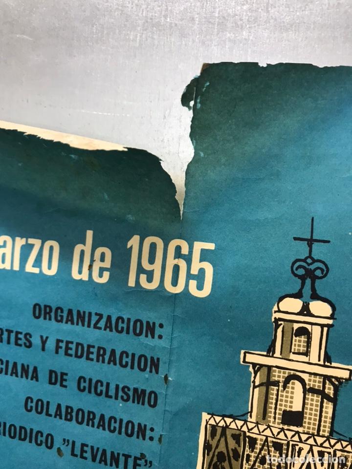 Coleccionismo deportivo: XXIV VUELTA CICLISTA A LEVANTE, GRAN PREMIO COCINAS SADA, MARZO DE 1965 - Foto 11 - 202988330