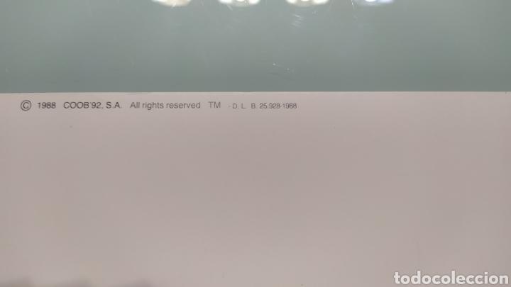 Coleccionismo deportivo: CARTEL OFICIAL DE BARCELONA 92 EDITADO POR EL COOB92 AÑO 1988. TAMAÑO 70x50 DE JOSEP M. TRIAS.NUEVO - Foto 2 - 203879341