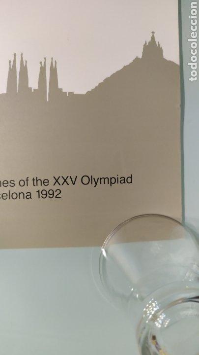 Coleccionismo deportivo: CARTEL OFICIAL DE BARCELONA 92 EDITADO POR EL COOB92 AÑO 1988. TAMAÑO 70x50 DE JOSEP M. TRIAS.NUEVO - Foto 4 - 203879341
