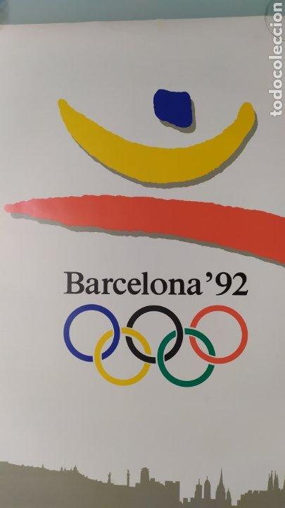 Coleccionismo deportivo: CARTEL OFICIAL DE BARCELONA 92 EDITADO POR EL COOB92 AÑO 1988. TAMAÑO 70x50 DE JOSEP M. TRIAS.NUEVO - Foto 8 - 203879341