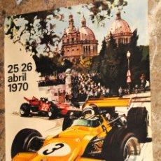Coleccionismo deportivo: POSTER TROFEO SEAT - V GRAN PREMIO BARCELONA - TROFEO DE EUROPA FORMULA 2 (AÑO 1970). Lote 204276752