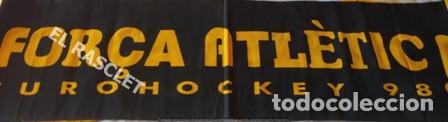 CARTEL PUBLICIDAD ACRYLICO DEL ATHLETIC HOCKEY TERRASSA - EUROHOCKEY 98 - EN PERFECTO ESTADO (Coleccionismo Deportivo - Carteles otros Deportes)