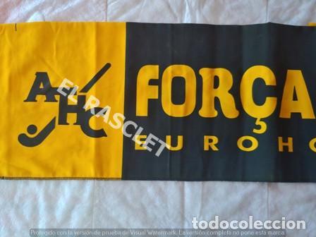 Coleccionismo deportivo: CARTEL PUBLICIDAD ACRYLICO DEL ATHLETIC HOCKEY TERRASSA - EUROHOCKEY 98 - EN PERFECTO ESTADO - Foto 2 - 205267503
