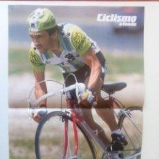 Coleccionismo deportivo: POSTER CICLISMO 1987- VICENTE BELDA - KELME. (51,5 X 27,5 CM). Lote 205672315