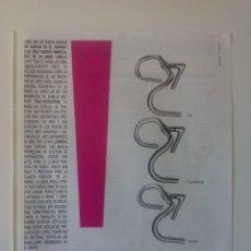 Coleccionismo deportivo: PUBLICIDAD CICLISMO 1987. MANILLARES CINELLI.. Lote 205673208